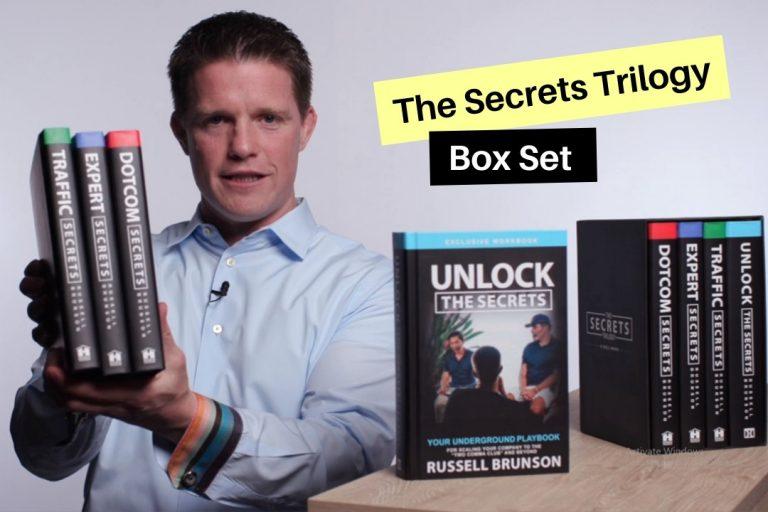 The Secrets Trilogy russell brunson box set