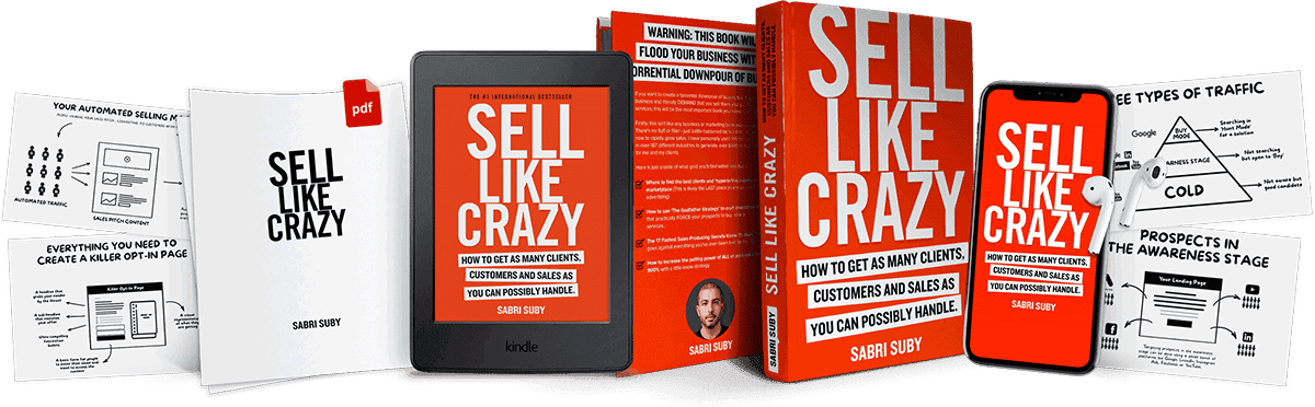 sell like crazy book Sabri Suby