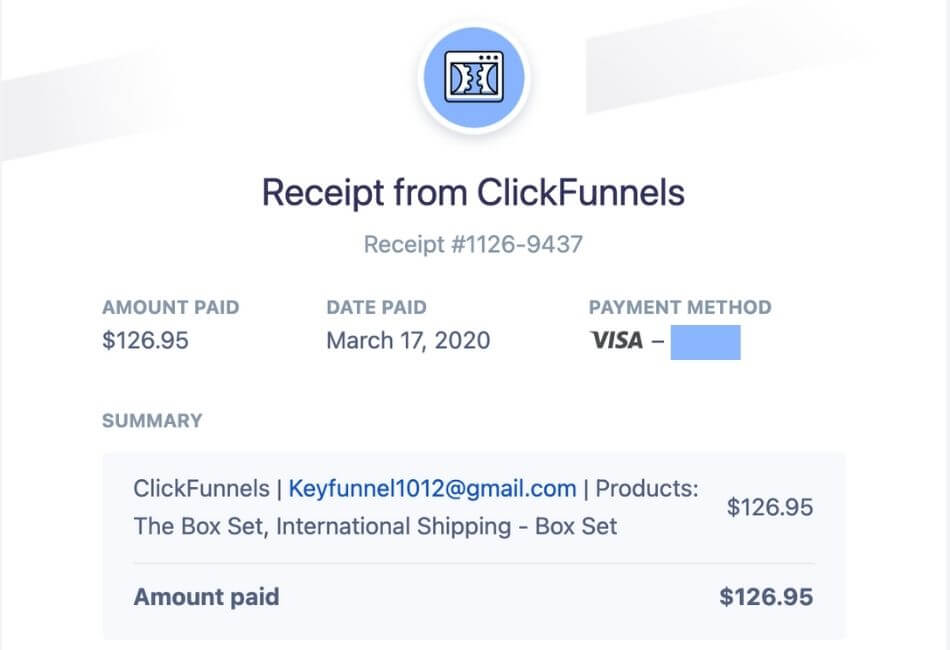 Dotcom Secrets review billing proof