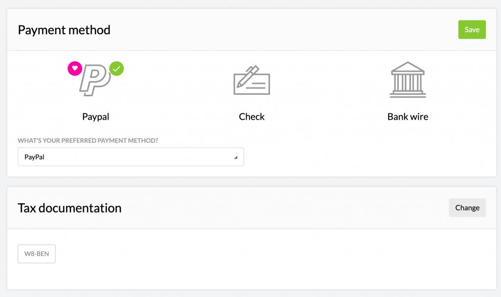 Kartra affiliate payment method