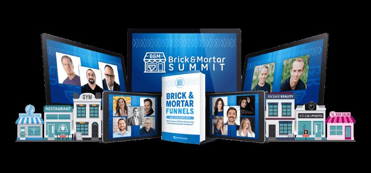 Brick and mortar funnels summit mockup