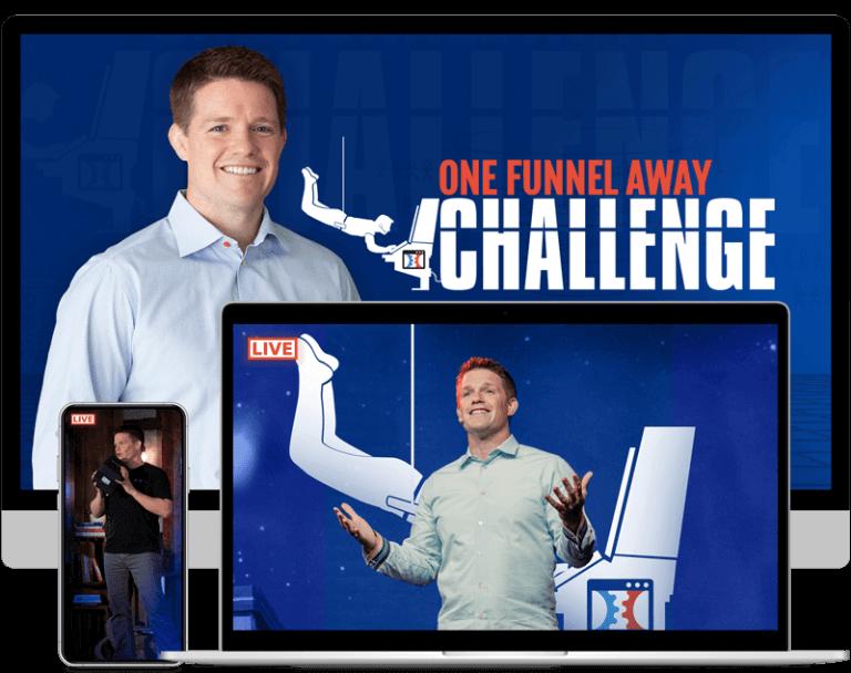 One funnel away challenge mockup